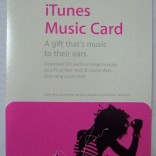 iTunes Music Cards