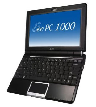 Asus Eee PC 1000 to launch in the Philippines