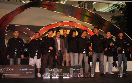 World Cyber Games 2008 Philippine Champions