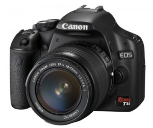 Canon EOS Rebel T1i takes Full HD Videos