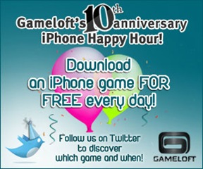 Free iPhone Games from Gameloft from May 10 to 21
