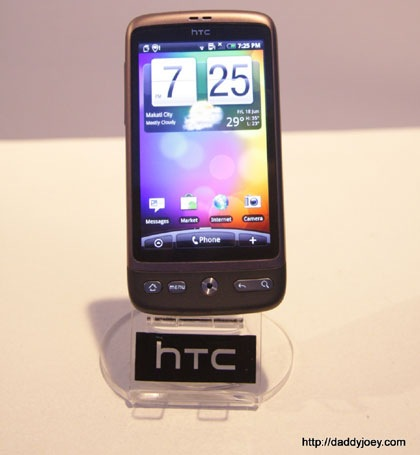 HTC Desire launched with a price of Php34,900