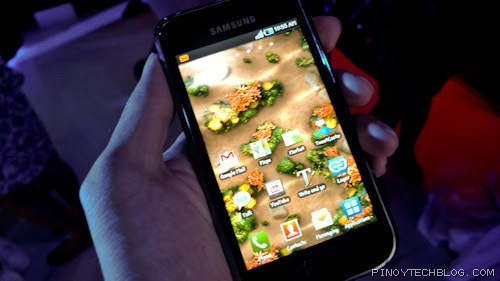 Samsung Galaxy S First Impressions