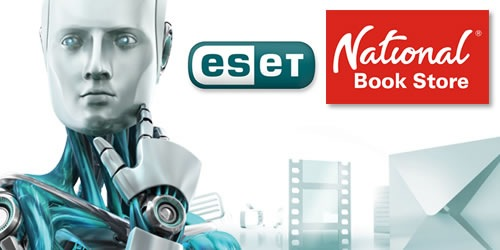 ESET Antivirus Software Available in National Bookstore Branches