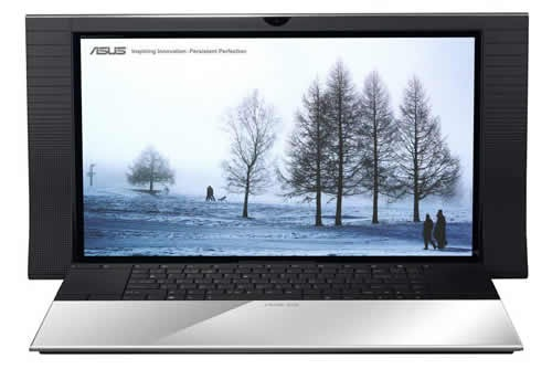 ASUS NX90 notebook head-on