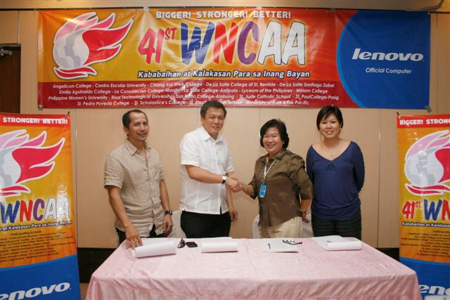 Lenovo signs on as Technology Partner of the 41st WNCAA season