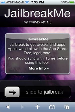Apple's iOS4 finally got jailbroken… the easy way