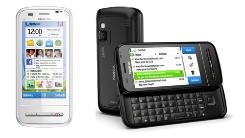 Nokia C6, 3.2″ touchscreen and QWERTY slider for just above Php15k