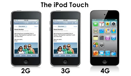 ipod touch 4th gen specs. Among the updated iPods