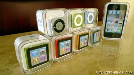 Apple's new iPods are already out in the market