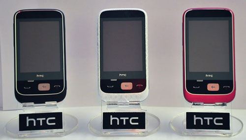 Rhian Ramos limited edition HTC Smart phones