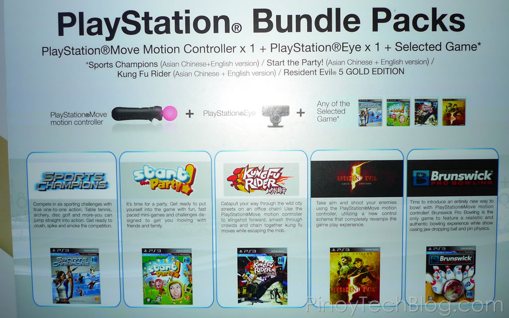 PlayStation Move Bundle Packs