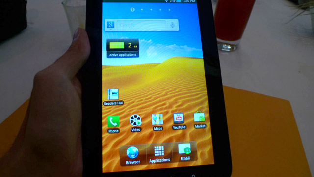Samsung Galaxy Tab will go for Php35k starting next week