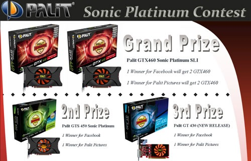 Palit Sonic Platinum Contest