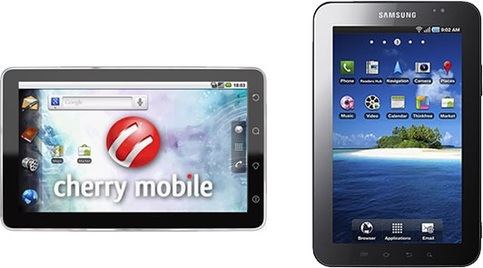 Cherry Mobile Superion vs. Samsung Galaxy Tab