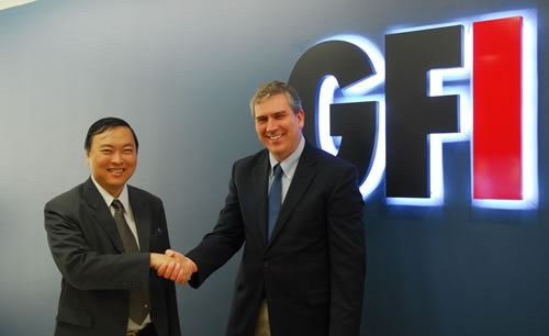 CICT Chairman Ivan Uy and Alex Eckelberry of GFI