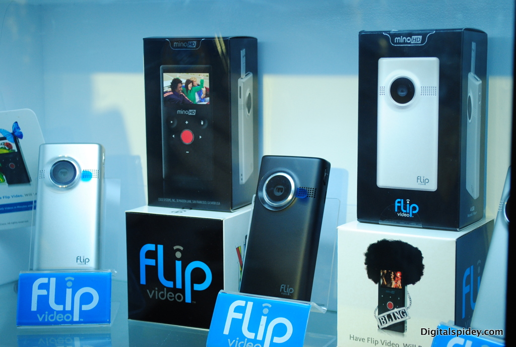 Flip MinoHD and UltraHD pocket camcorders officially launched