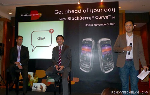 BlackBerry Curve 3G Launch