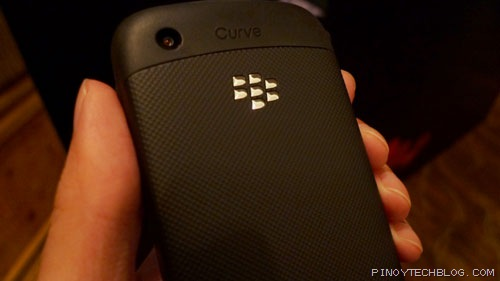 BlackBerry Curve 3G back