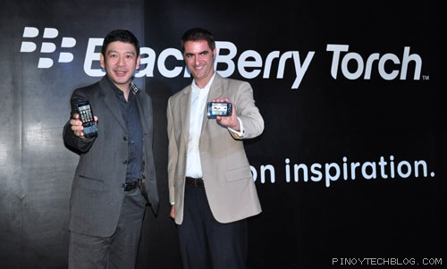 BlackBerry Torch 9800 launch