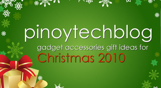 PTB's 5 gadget accessories gift ideas for Christmas 2010