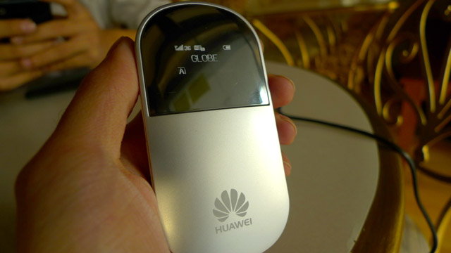 Huawei E5 is the better portable 3G / WiFi router