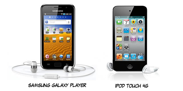 Can the Samsung Galaxy Player compete with the iPod Touch?