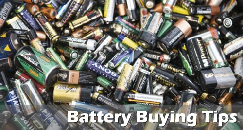 battery buying tips