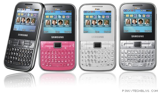 Samsung Punch gives you dual-sim on a QWERTY phone