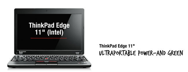 Lenovo set to launch the ThinkPad Edge 11