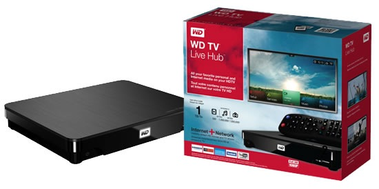 WD TV Live Hub