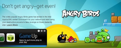 angry birds intel appup