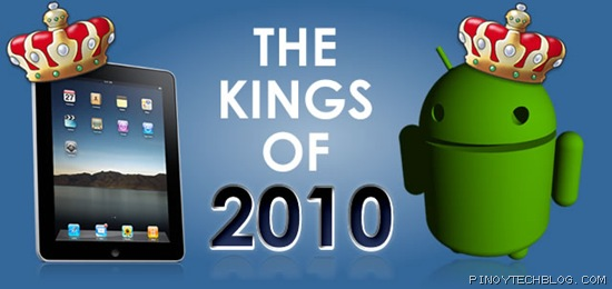 iPad and Android, kings of 2010