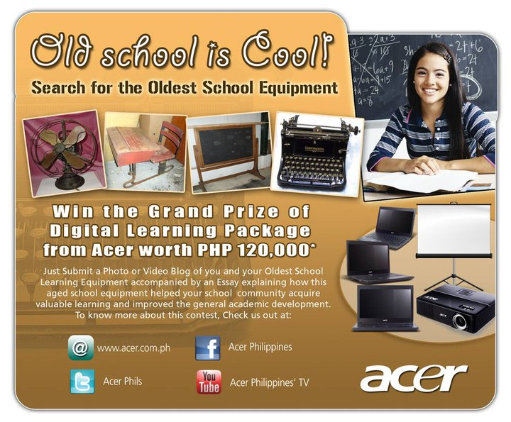 Acer's Search for the oldest school equipment