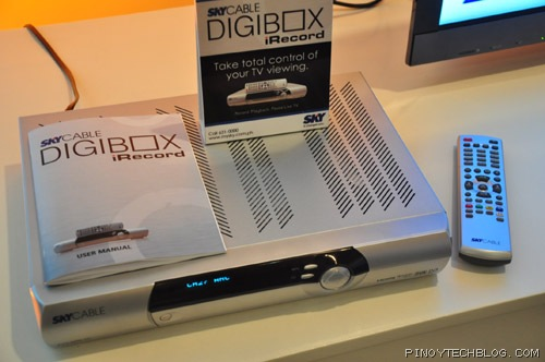 SkyCable formally launched the DigiBox iRecord