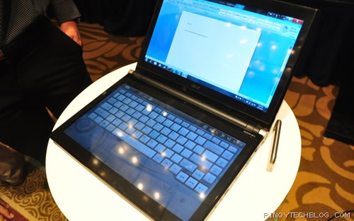 Acer ICONIA Touchbook