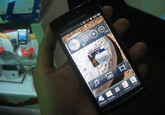 Sony-Ericsson Xperia arc pre-order priced at Php32,750