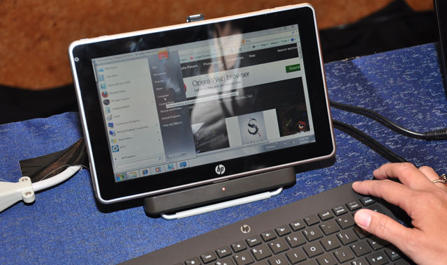 HP intros Slate 500 Tablet PC, made for banks only