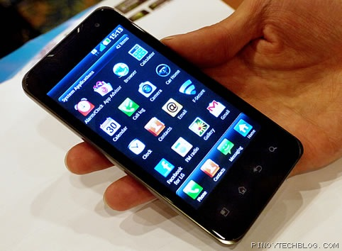 Get ready for the LG Optimus 2X