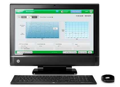 HP TouchSmart 610