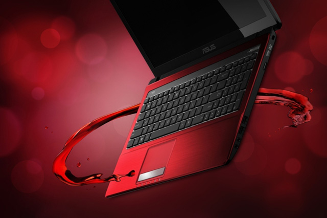 asus red tecnology wallpaper - photo #6
