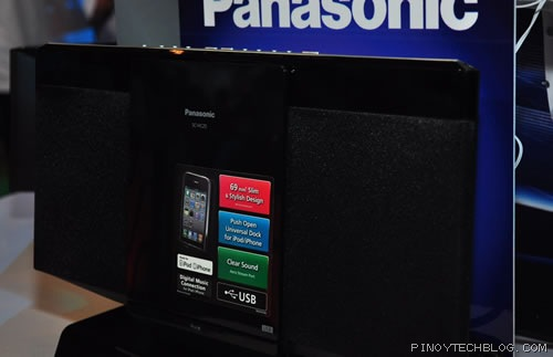Panasonic SC-HC25 compact stereo system will still accept your CDs