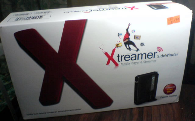 Xtreamer SideWinder review