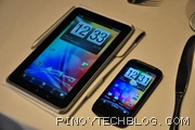 HTC Flyer with HTC Desire S