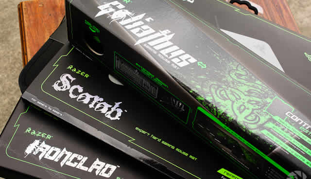 Review: Razer Gaming Mats – Goliathus, Scarab and Ironclad