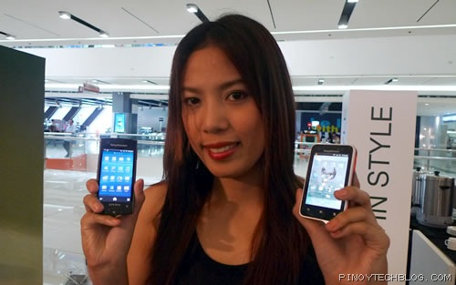 Sony Ericsson Xperia Ray and Active