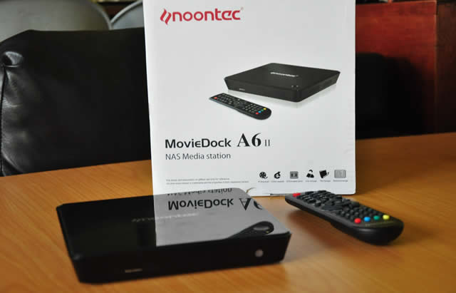 Noontec MovieDock A6II media player review