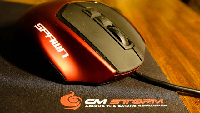 CM Storm Spawn Gaming Mouse Review
