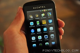 Alcatel Blaze Glory 918N gingerbread 2