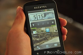 Alcatel Blaze Glory 918N gingerbread
